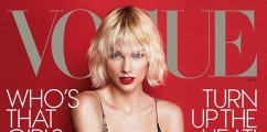 Taylor Swift Looks Amazing On The Cover Of Vogue Magazine + Singer Shows Off 'Bleachella'-Blonde Hair On Instagram
