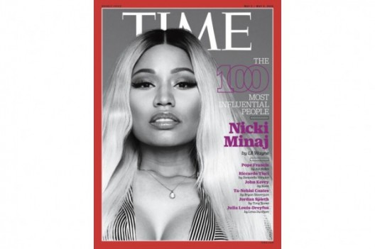 CLAP FOR HER: Nicki Minaj Makes The Cover of TIME, Named One Of