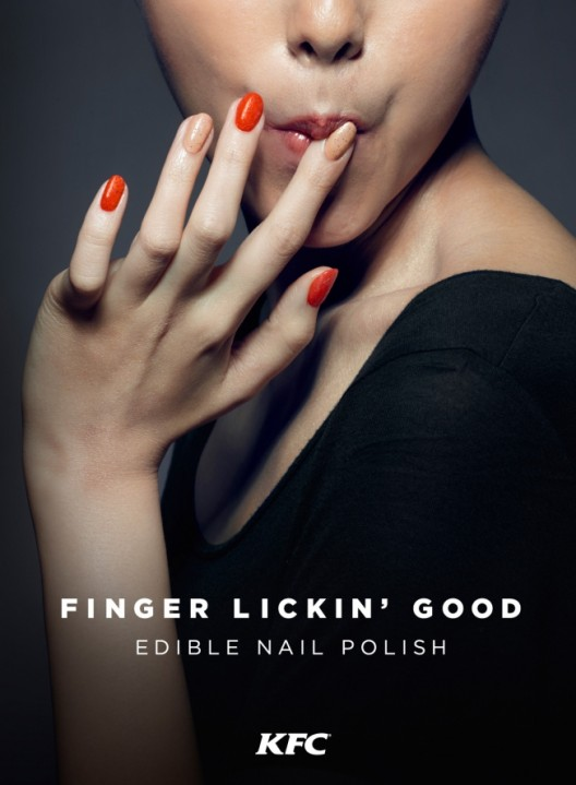 Ladies Would You Rock: KFC Creates Edible 'Finger Lickin' Good' Nail Polish That Taste Like Chicken