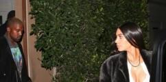 Dinner Date: KimYe Spotted Leaving Giorgio Baldi In Santa Monica ( PHOTO )