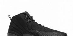 "OVO x Air Jordan 12 ""Black"" Dropping Next Month"