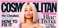 COSMO GIRL: Blac Chyna Graces The Cover Of Cosmopolitan South Africa