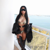 @NickiMinaj Rocks Bikini By LA PERLA While Filming Video For Gucci Mane's Hot Track