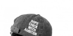 New Merch Alert: Dope Chick With Ambition Dad Hat By The Addicted Life