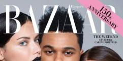 The Weeknd Covers  'Harper's Bazaar' September Issue