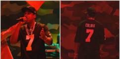 ICYMI:  Jay-Z Rocks Colin Kaepernick Jersey During SNL Performance (WATCH)