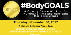ATL EVENT: #BodyGOALS Charity Dance Workout