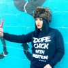 Check Out The Addicted Life's Dope Chick With Ambition Signature Sweatshirt