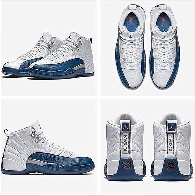 9501fd75a46d New Release Date For Air Jordan Retro 12  French Blue