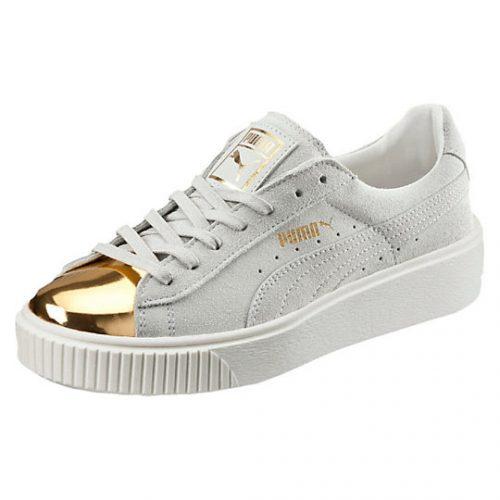 low priced e69b8 cafbf SneakHER Wants: Puma Suede Platform Gold Toe Women's ...