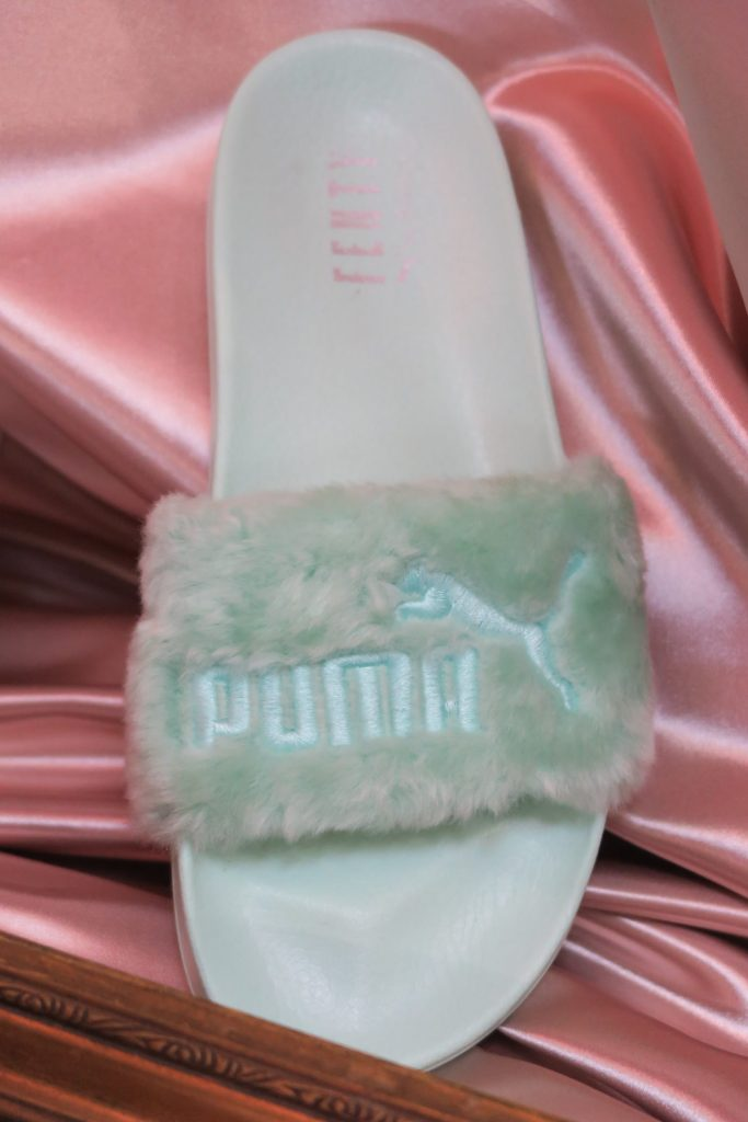 purchase cheap 57d38 8800f DOPE or NOPE: Rihanna x PUMA Fenty Jelly Slides + New Pastel ...